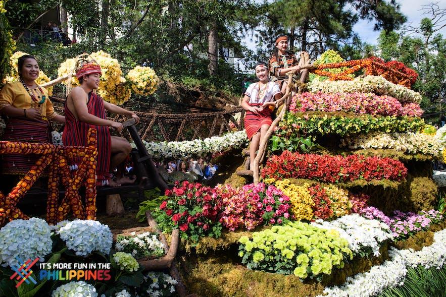 Panagbenga Festival in Baguio City, Philippines