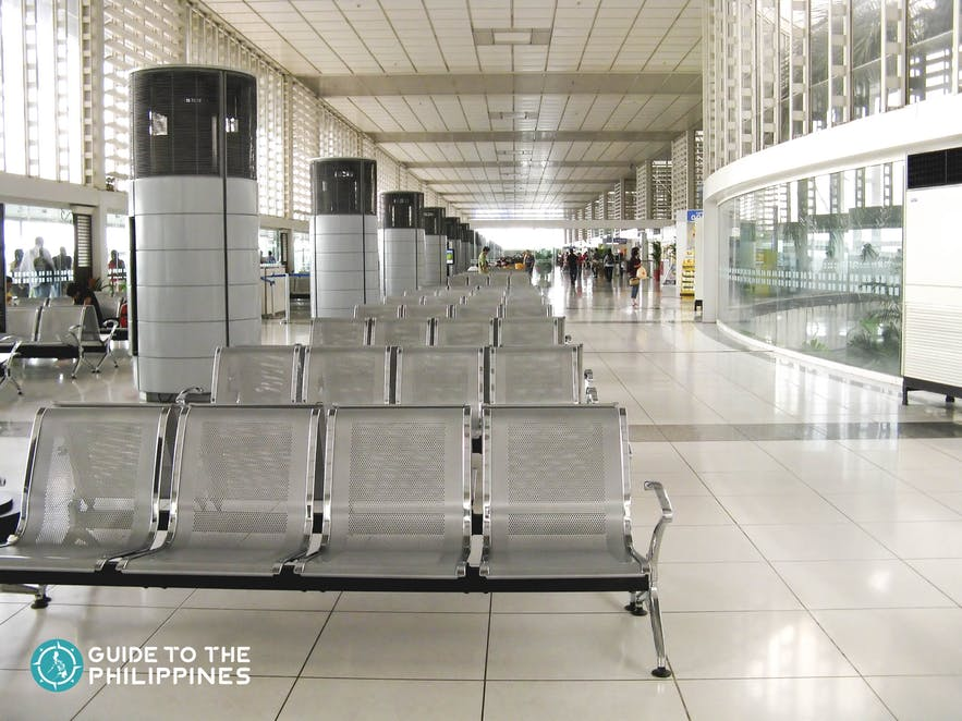 Inside Ninoy Aquino International Airport in Manila, Philippines