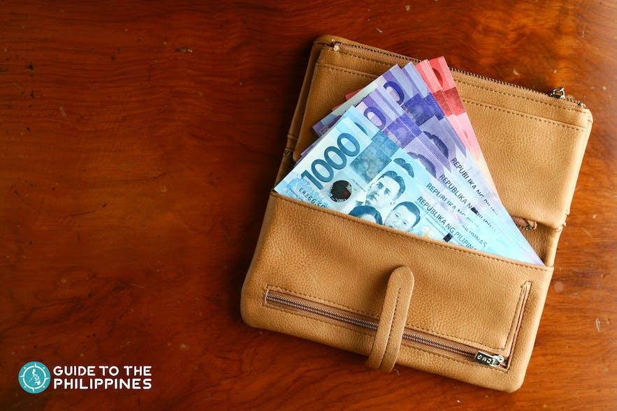 Philippine peso bills