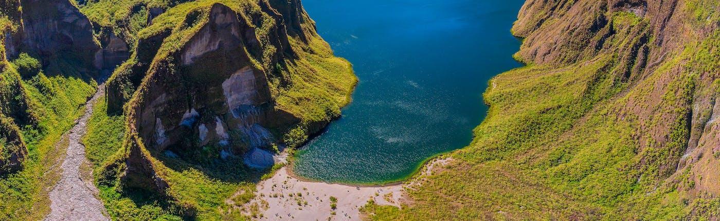 Picturesque Mt. Pinatubo Lake