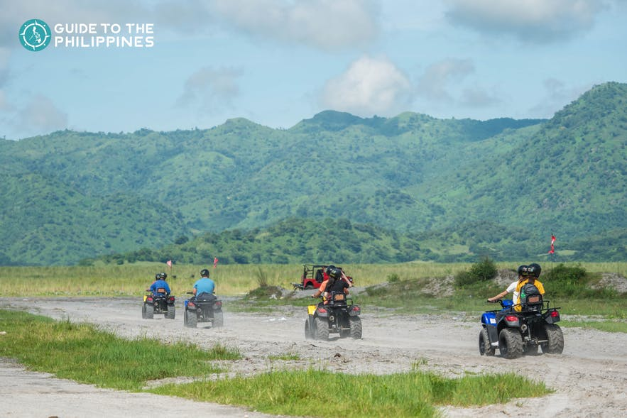 Explore Pampanga with your family or friends in a 4x4 ATV ride