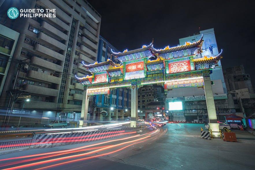 Binondo, Manila at night