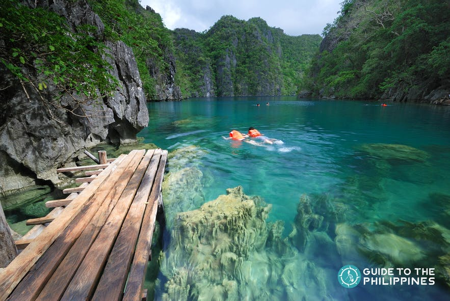 Kayangan Lake in Coron, Palawan