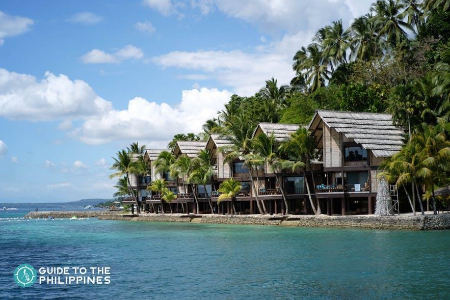 View of Pearl Farm Beach Resort in Davao del Norte