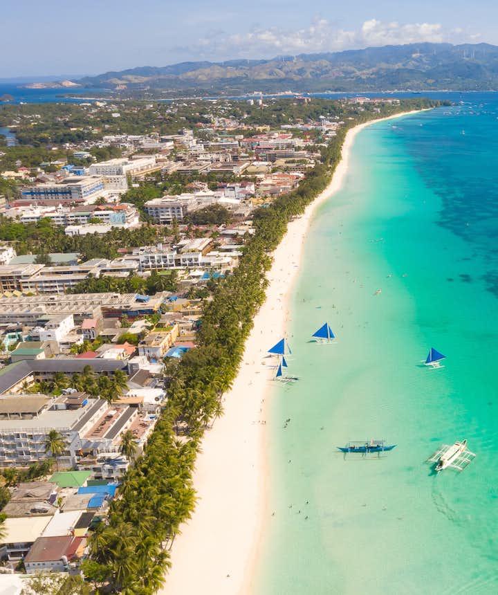 White Beach or Boracay, Philippines