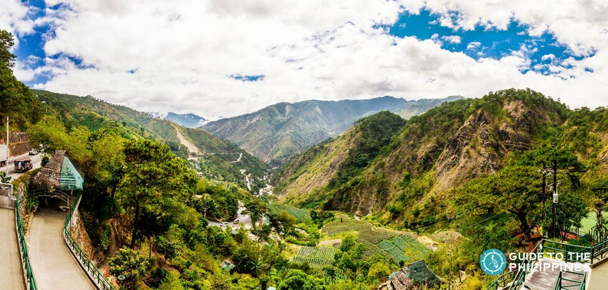 Kennon Road Viewpoint in Baguio, Philippines
