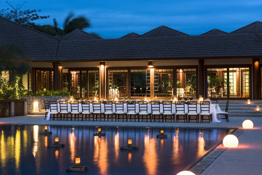 West Villa Clubhouse of Amanpulo Resort in Palawan