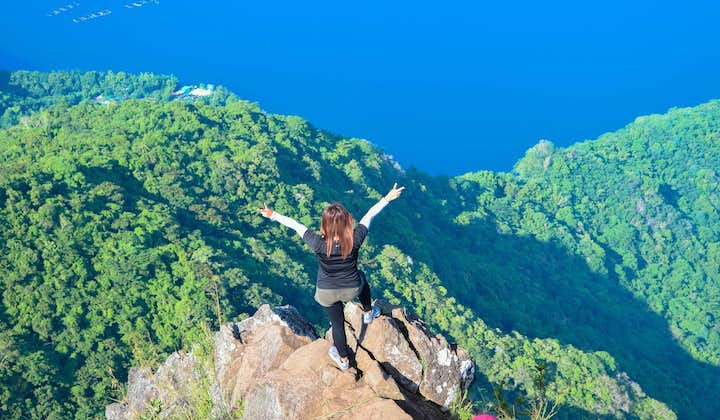 Mt. Maculot Rockies Private Day Hike & Taal Heritage Town Tour in Batangas from Manila