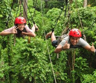 Baguio Tree Top Adventure Superman Ride