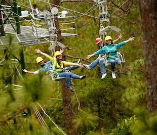 Baguio Tree Top Adventure Canopy Ride