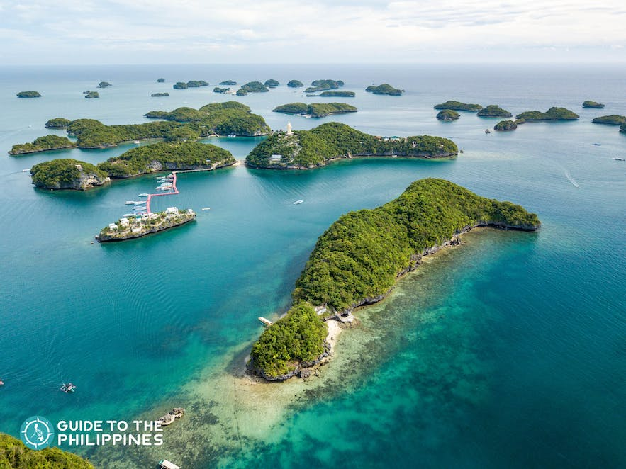 Hundred Islands National Park in Pangasinan, Philippines