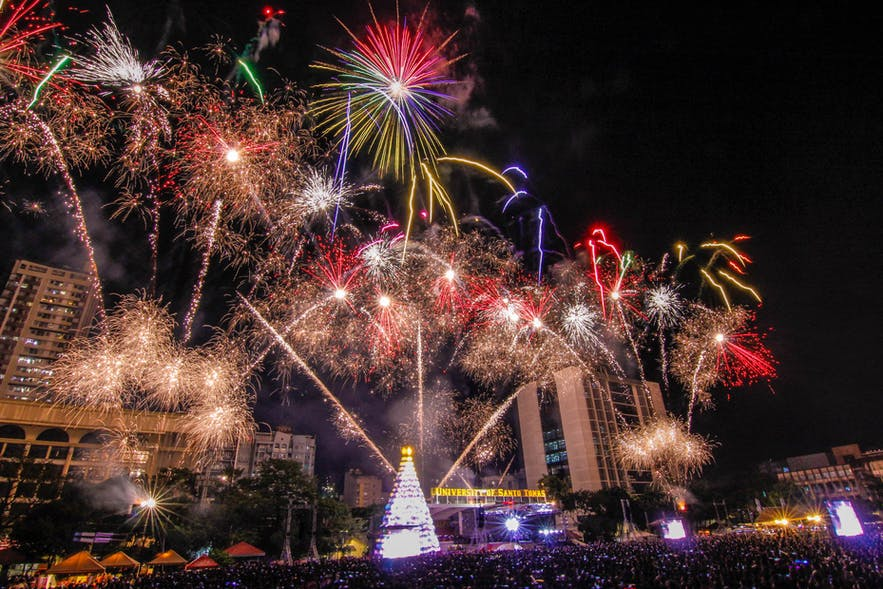 Paskuhan at the University of Santo Tomas in Manila, Philippines