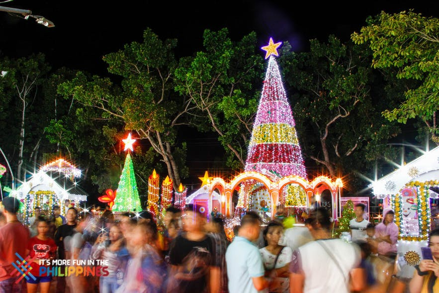 Lights display at Tangub City's Christmas Symbol Festival