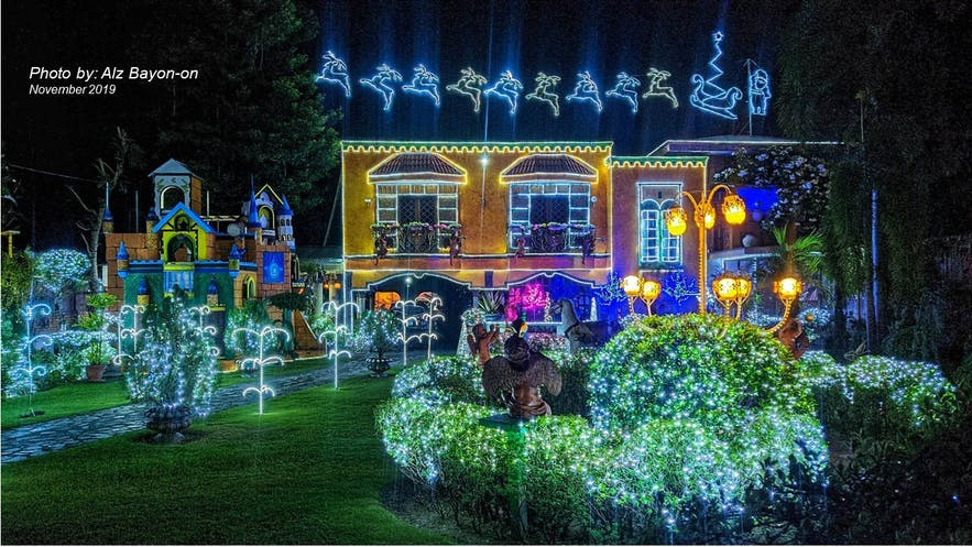 Dr. Rico Absin's Christmas House in Dumaguete, Philippines