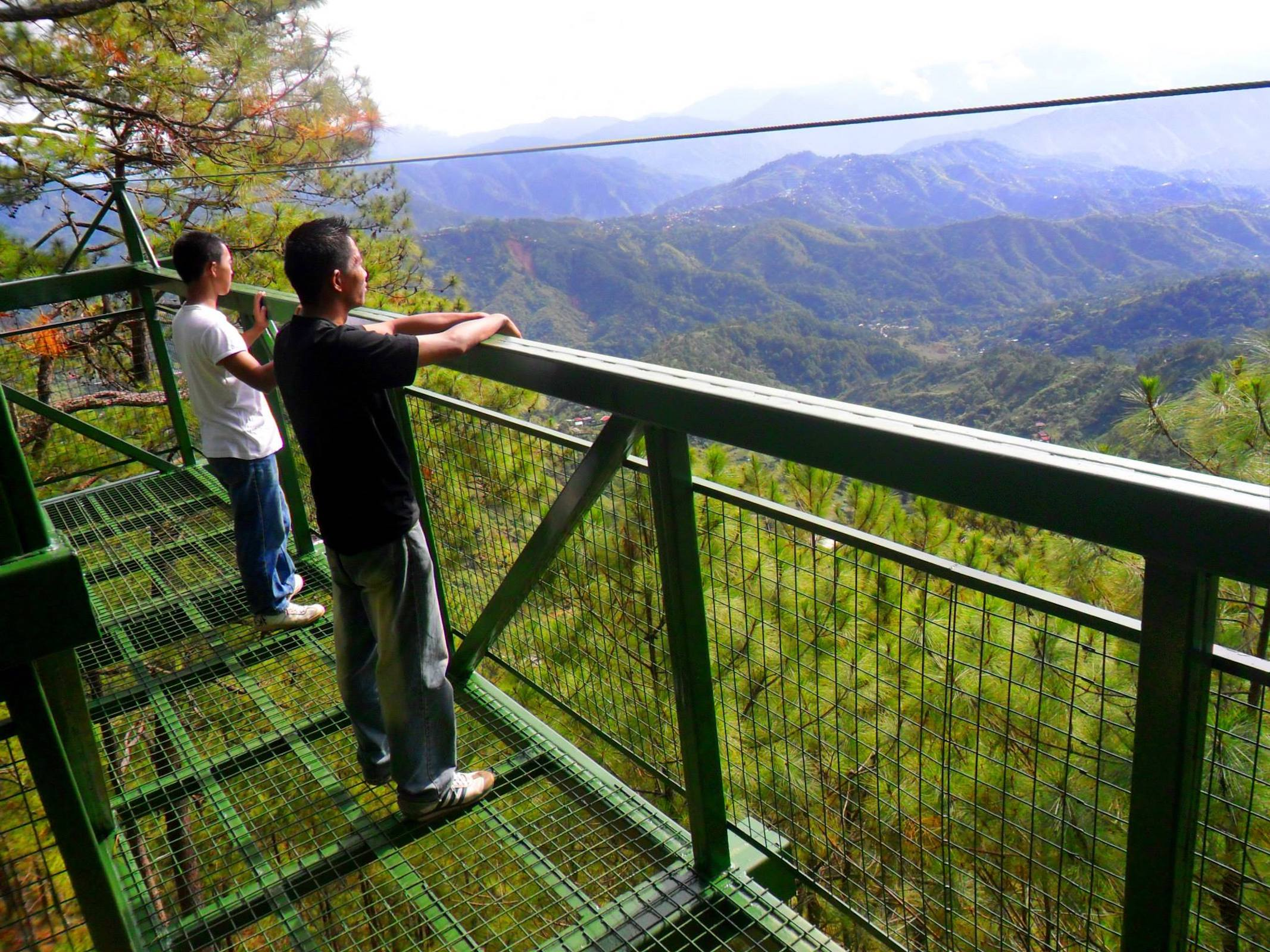 Baguio Tree Top Adventure Trekking & Skywalk