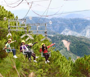 Baguio Tree Top Adventure Canopy, Superman Ride, and Silver Surfer Ride