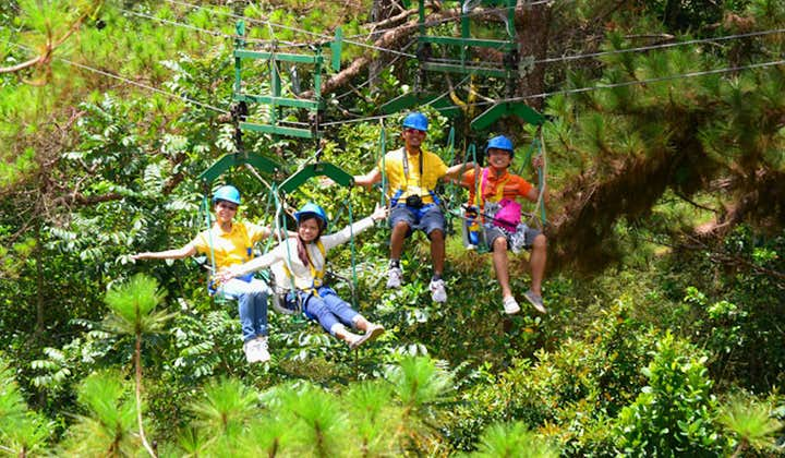 Baguio Tree Top Adventure All Rides Package