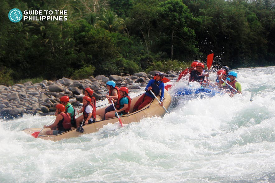 Whitewater rafting in Cagayan de Oro