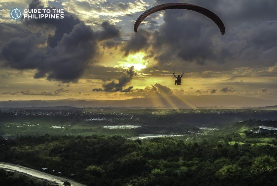 Paragliding in Cagayan de Oro, Philippines