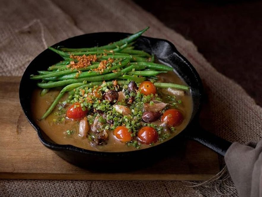 Locavore's bestselling dish, the Sizzling Sinigang