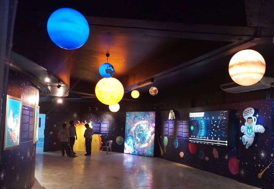 National Museum Planetarium in Rizal Park, Manila