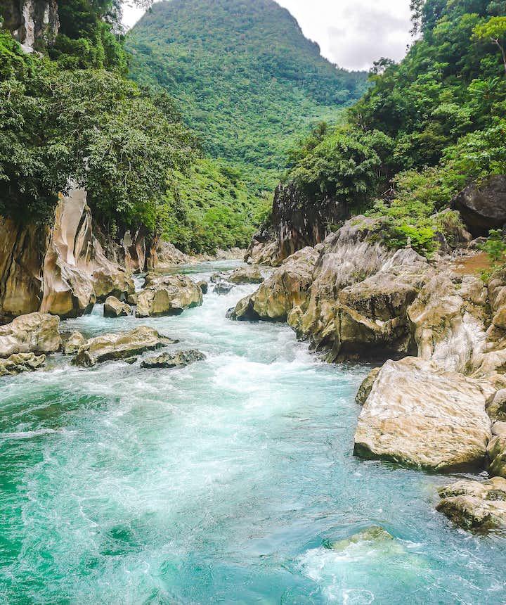 Tinipak River in Tanay, Rizal