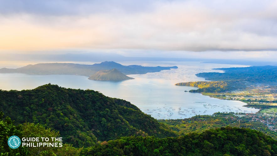 Taal Lake view in Tagaytay