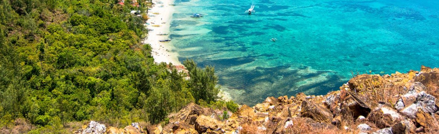 Pristine beaches of Islas de Gigantes in Iloilo