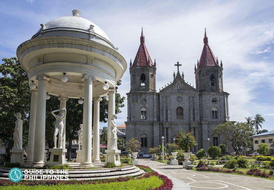Facade of Molo Church or St. Anne Parish in Iloilo