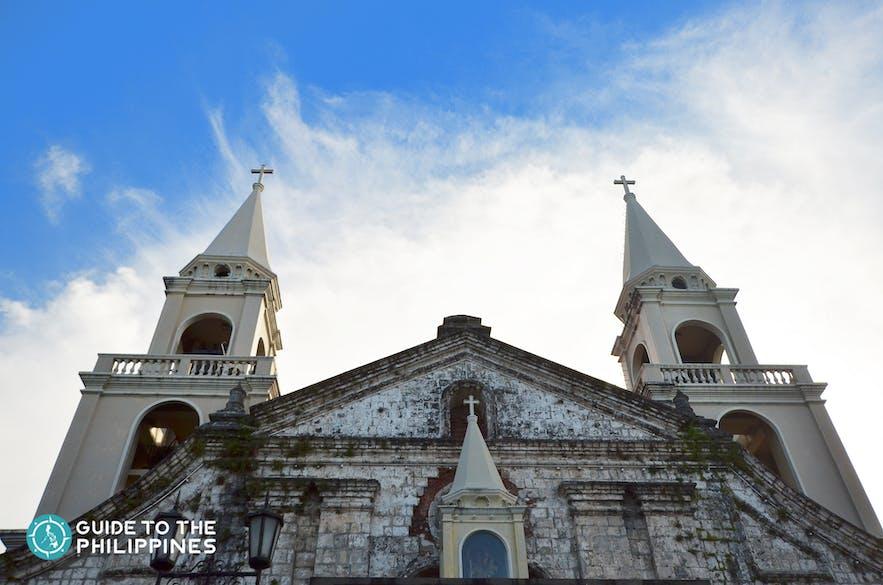 Front view of Jaro church in Iloilo