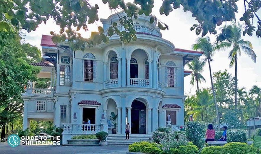 Front view of Molo Mansion in Iloilo
