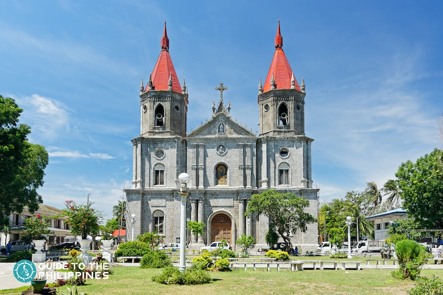 Front view of Molo church in Iloilo