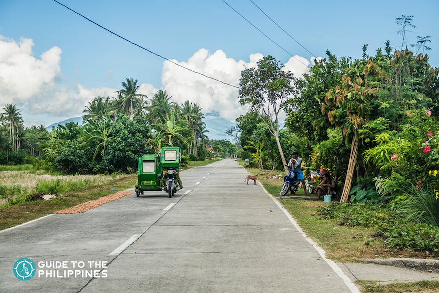 Tricycle and pedicab used for short distance travels