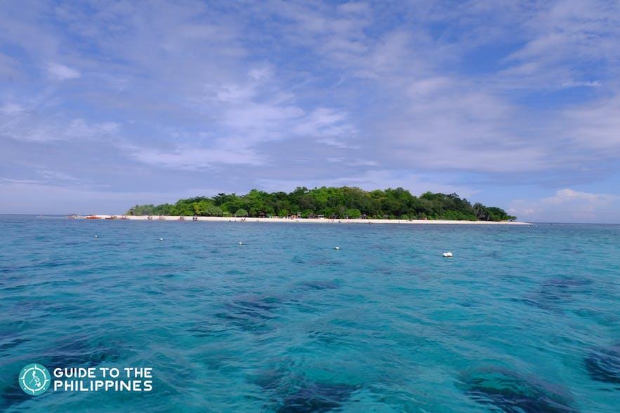 Mantigue Island in Camiguin