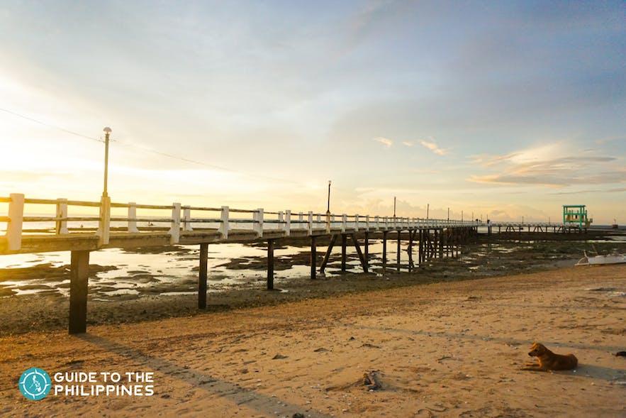 Sunset at Kota Park, Bantayan Island