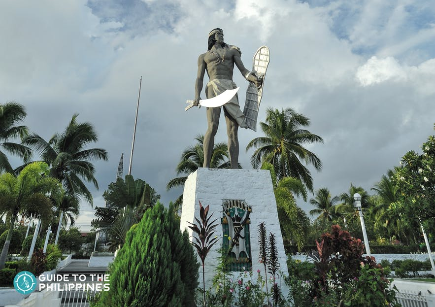 Lapu-lapu monument in Mactan Island, Cebu