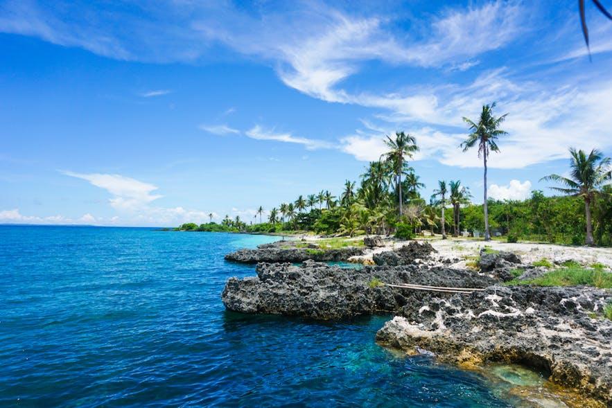 White beach of Bantayan Island, Cebu