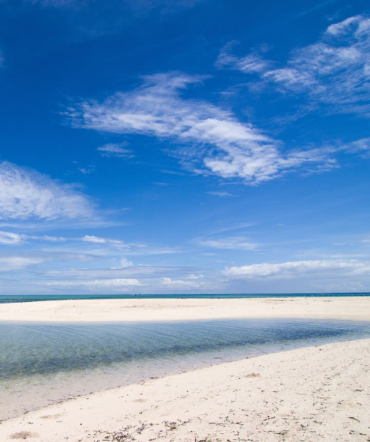 Pandanon Beach is accessible from Mactan