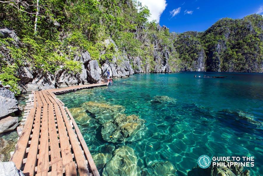 Kayangan Lake in Coron, Palawan