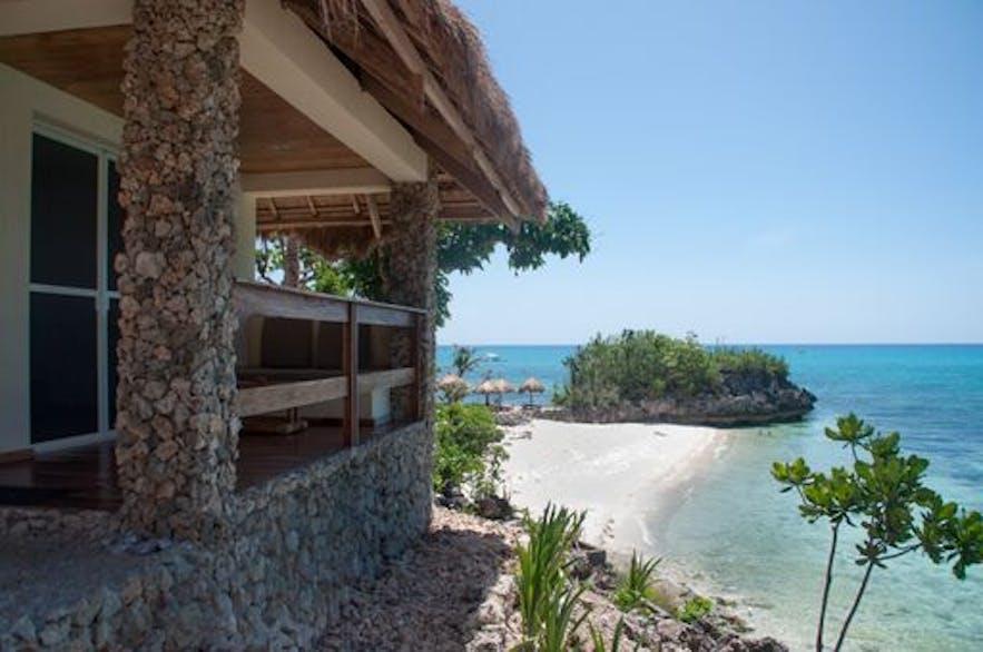 Tepanee Beach Resort in Logo Beach, Malapascua Island