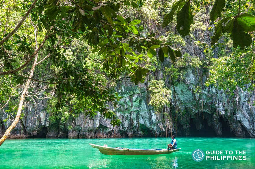 Entrance to Puerto Princesa's famous Underground River
