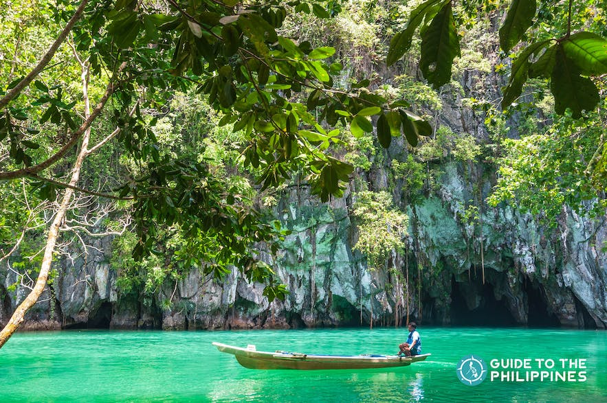 Entrance to Puerto Princesa's famous Underground River