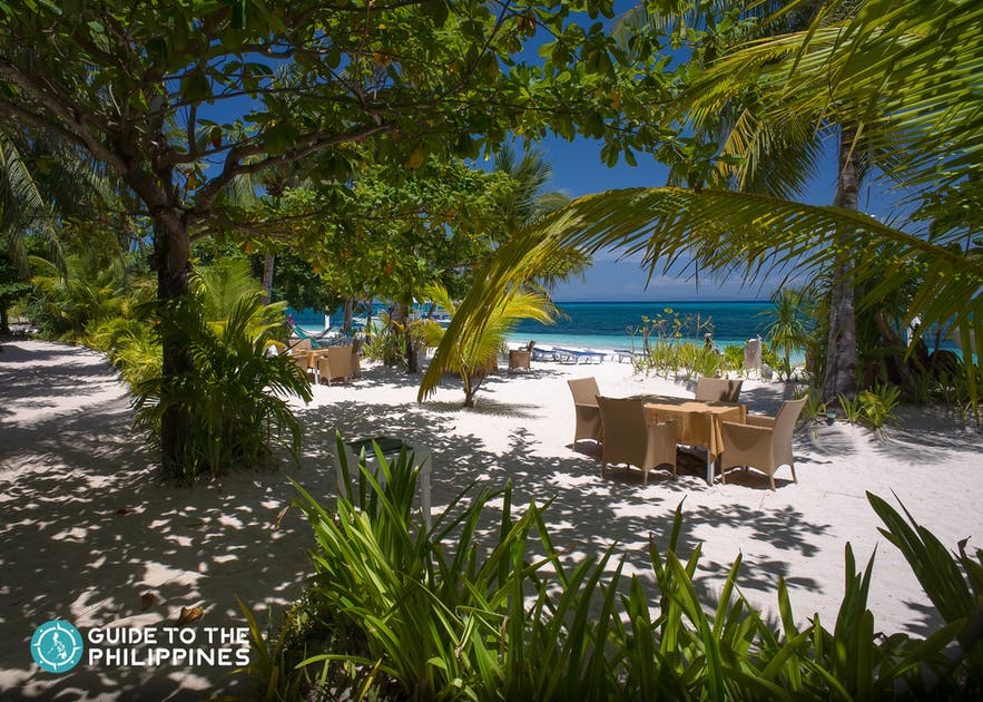 Bounty beach resort in Malapascua Island