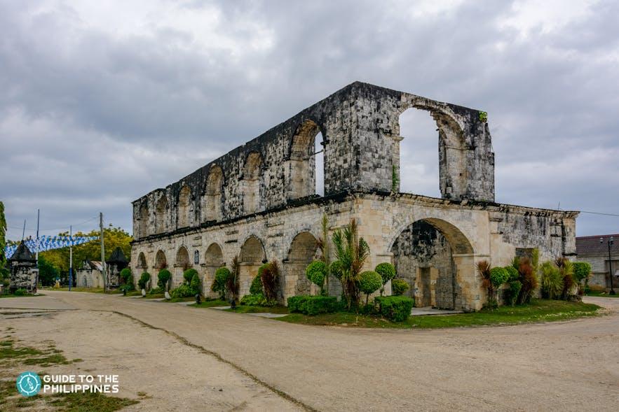 Cuartel Ruins in Oslob, Cebu