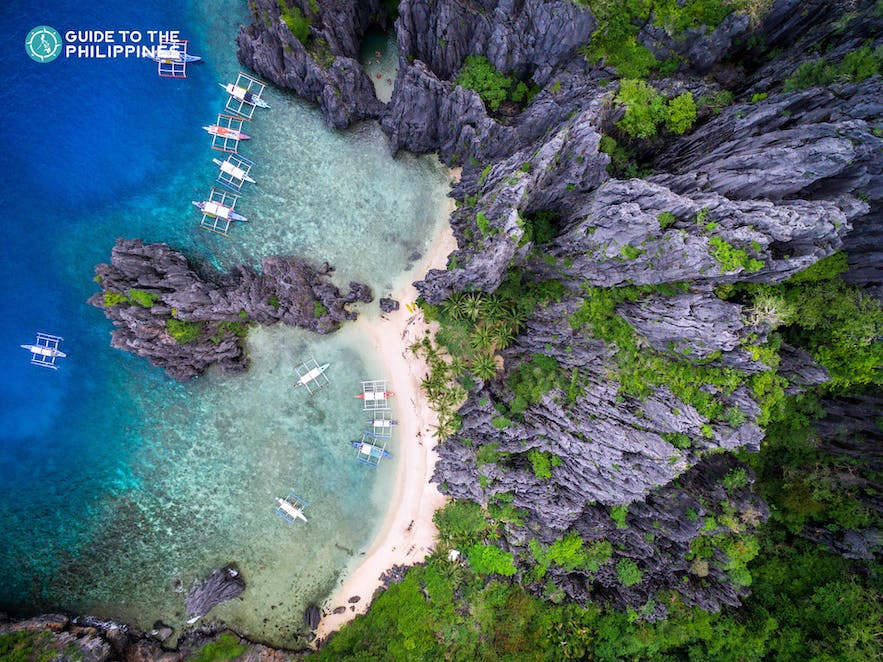Secret Lagoon in El Nido, Palawan