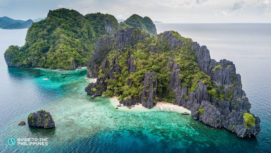 Shimizu Island in El Nido, Palawan