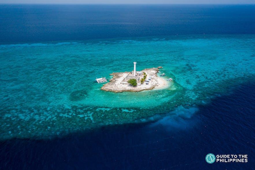 Dive site in Capitancillo Island