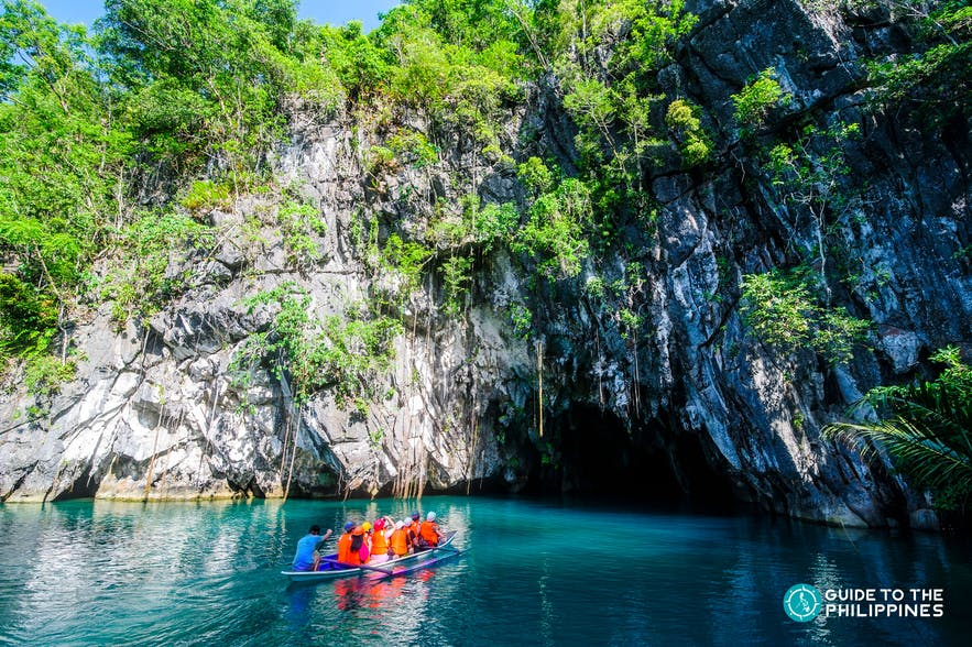 Palawan's famous Underground River in Puerto Princesa