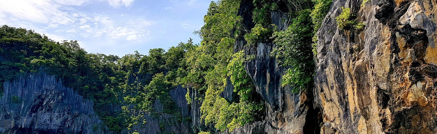 Nearby the entrance to the Underground River in Puerto Princesa, Palawan