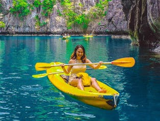El Nido Palawan Island Hopping Tour A with Lunch  | Big Lagoon, Shimizu Island, & More width=